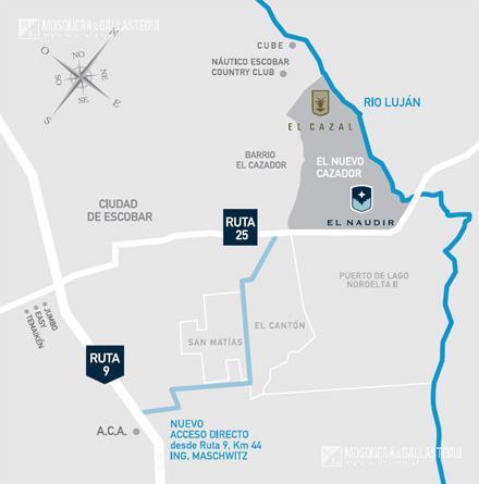 El Naudir - G.B.A. Zona Norte | Escobar | Barrio El Cazador