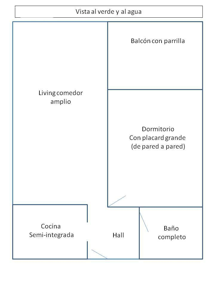Departamento en Venta  en Nordelta Portezuelo Marinas del Portezuelo