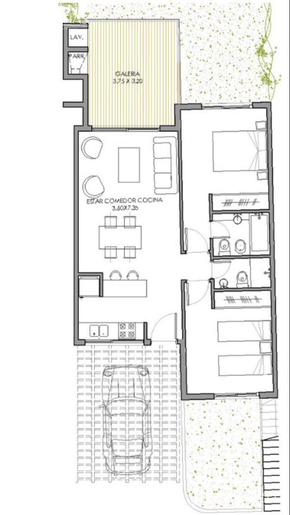 Departamento en Alquiler Venta en Lago Escondido a Alquiler - $ 13.500 Venta - u$s 170.000