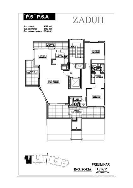 Departamento en Venta Alquiler en Zaduh a Venta - u$s 380.000 Alquiler - $ 15.000