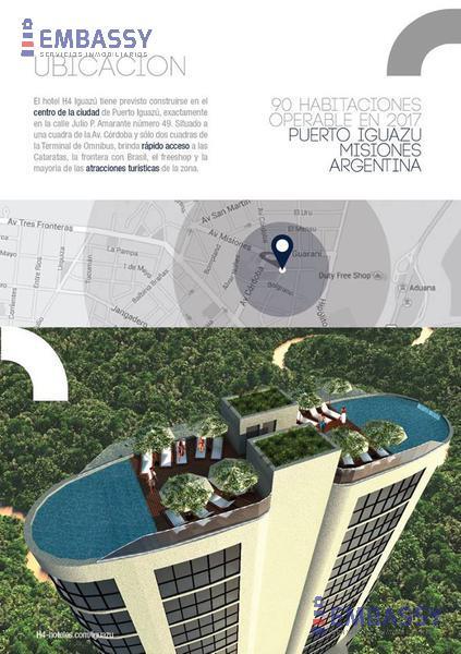 Foto Hotel en Venta en  Puerto Iguazu,  Iguazu  Fideicomiso Hotelero H4 - Iguazu  - Misiones