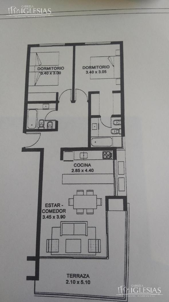 Departamento en Venta en QBAY GOLF a Venta - u$s 260.000