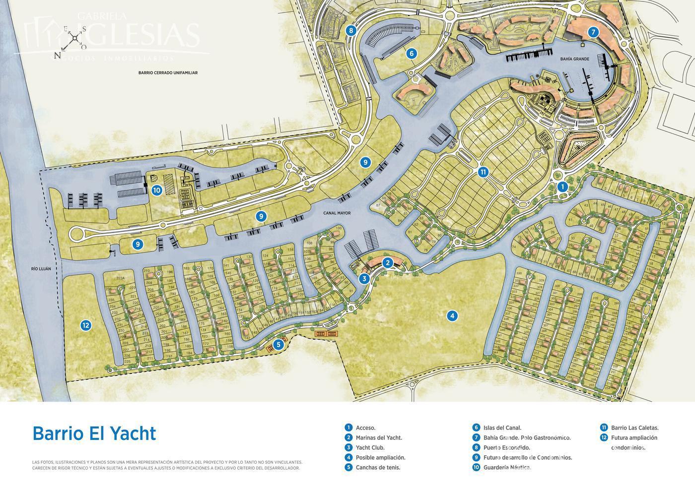 Terreno en Venta en El Yacht Nordelta a Venta - u$s 450.000