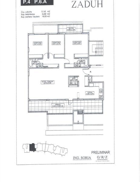 Departamento en Venta en Zaduh a Venta - u$s 480.000