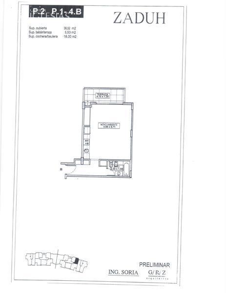 Departamento en Venta Alquiler en Zaduh a Venta - u$s 155.000 Alquiler - $ 6.300