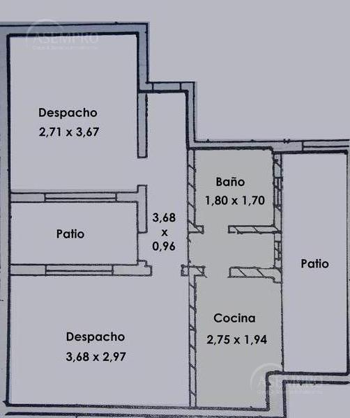 Foto Oficina en Alquiler |  en  Once ,  Capital Federal  CORRIENTES, AVDA. entre PASO y LARREA