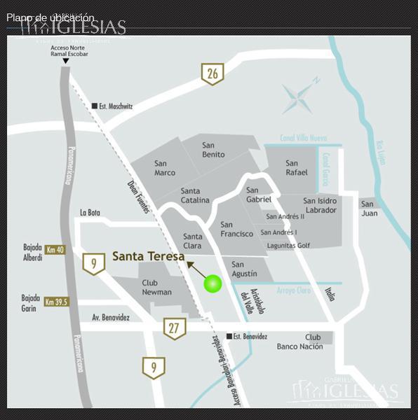 Terreno en Venta en Santa Teresa a Venta - u$s 175.000