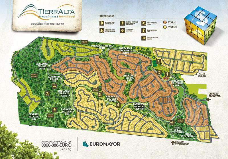Foto Terreno en Venta |  en  Malagueño,  Santa Maria  Colectora Ruta 20 Km 4 Lote 47 Macro Lote 01 Valle La Cuenca Tierra Alta