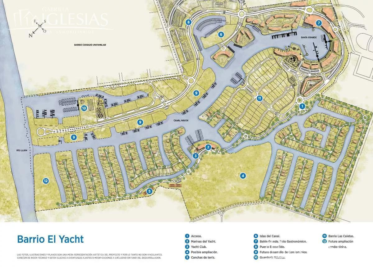 Terreno en Venta en El Yacht Nordelta a Venta - u$s 339.000
